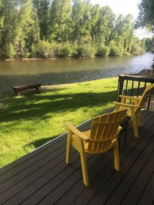 Photo for Cabin on the river - 1 mile from town  - 2.5 acre property