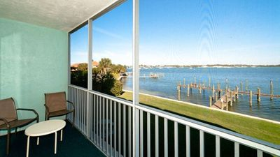 Photo for Pelican Cove 11 - Condo 2 Bedroom /2 Bath bay view, maximum occupancy of 4 people.
