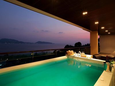 Photo for Privilege Plunge Pool Panoramic Sea View