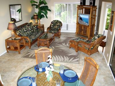 Photo for KANALOA at KONA, LARGE THREE BEDROOM CONDO, POOL,GOLF and OCEAN VIEWS! Please read rate notes.