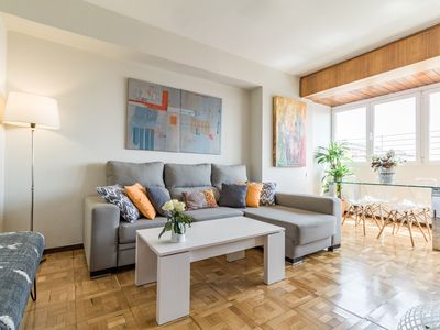 Photo for Bright & Modern 2BR Apartment in Heart of Upscale Barrio Salamanca. Great Views