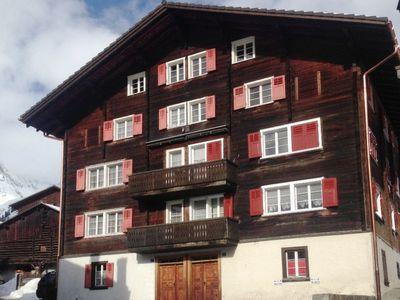 Photo for Apartment Casa Nova Cavegn in Sedrun - 4 persons, 2 bedrooms