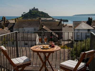 Photo for Mount View - Wonderful Views of Mount's Bay, close to Beach and Marazion centre