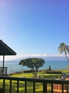 This is what you would be seeing every day of your vacation from your lanai!