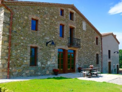 Photo for Self catering Can Pinell de pagès for 6 people