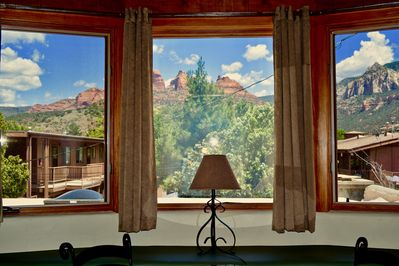 Wow Views of the Red Rocks from the Sanctuary Room #4