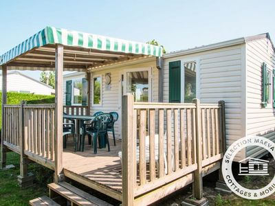 Photo for Camping Bel Air ***** - Maeva Camping - Mobil Home Passion 3 Rooms 4/6 People