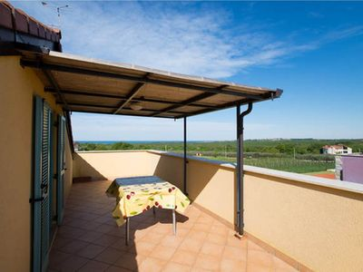 Photo for Modern Attic Sea View - Pool and Tennis Court - Airco - Parking Space