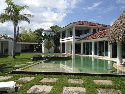 Photo for Magnificent & Beautiful  Beach House at Buenaventura. Steps away from Beach