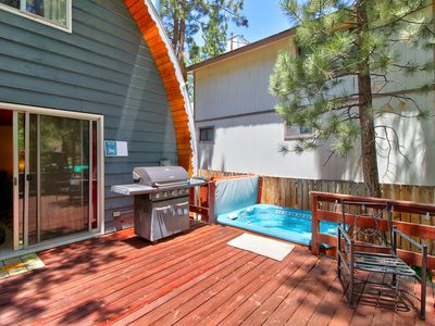 Photo for NEW LISTING! Cozy & stylish dog-friendly home w/ private hot tub & enclosed yard