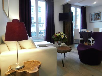 Photo for Fully Renewed Bright & Cozy 2 Bdr, Heart Of Paris