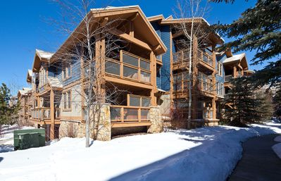 Photo for Upscale condo in historic downtown w/ quick ski access & a private hot tub!