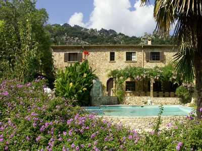 Photo for Amazing country estate Very private house - tennis court - pool - stunning views