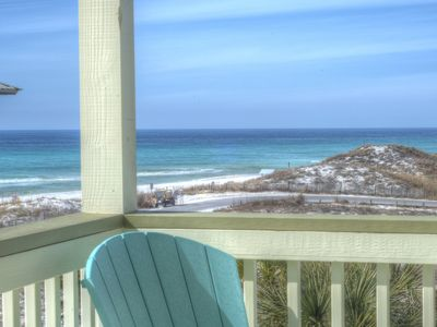 Photo for Daniel Dunes-Wide Gulf Views;Private Pool;Steps to Beach;Kayak/SUP/EXTRAS