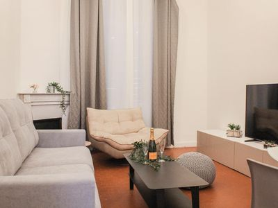 Photo for New renovation: central and luxurious, 350M from La Croisette and beaches