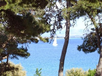 Photo for Delux sea view apratment with pool,gym,parking by the beach, near center,Vodice