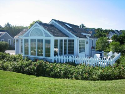 Photo for Oceanfront Cottage at Maushop Village, New Seabury, with Private Beach