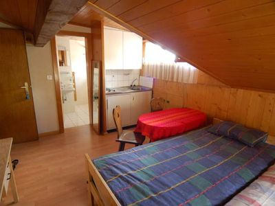 Photo for Nice studio, near the Center.  Composition :  • Living room with 2 beds, TV • Kitchenette with