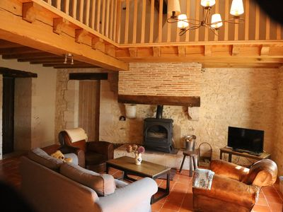 Photo for Chemin de Gargamelle 'Le Noyer'   Luxury gite   3 beds   sleeps 4-6 at Ligueux