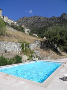 Photo for Corsica Balagne Lama Gite with pool-At sun-Sea and mountain