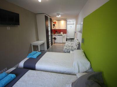 Photo for Madrid city center, cozy studio for two people