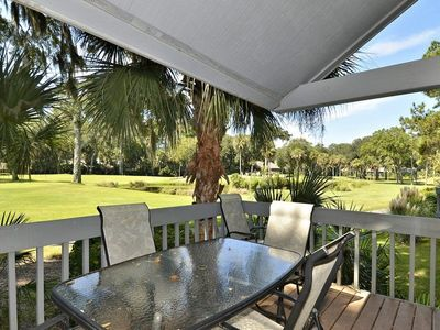 Photo for A 2 bedroom with a loft, 2-bath, end unit townhouse in the Turnberry Village complex of Palmetto Dun