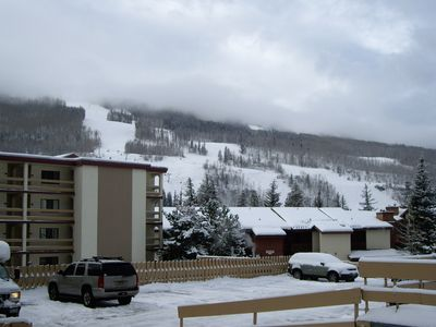 Photo for Vail, CO slopeside one bedroom studio. Walk to lifts or take free shuttle..