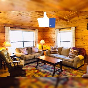 Photo for *Once a Part of the Beloved Shady Oak Lodge - Cabin 2 (Sleeps 9) w/ Boat Ramp*