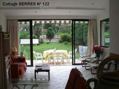 Photo for At 10 kms from Cannes - great cottage in a secure area -