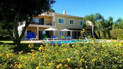 Photo for Luxury Villa - peaceful setting, private heated pool, overlooking golf course