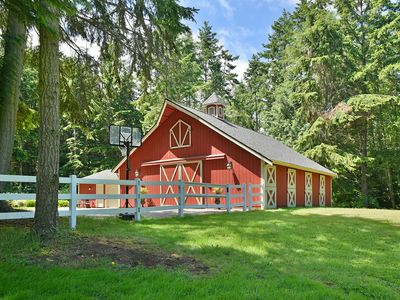 Photo for Romantic Barn House - Relax and unplug in private lush surroundings.