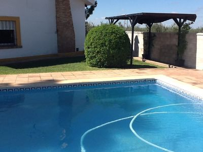 Photo for 5BR Chalet Vacation Rental in Espartinas. Sevilla