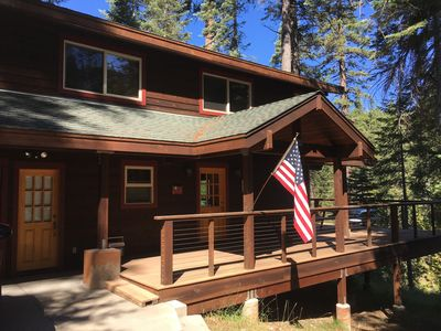 Photo for Beautiful Updated Cabin Overlooking Stanislaus River - Strawberry, Pinecrest, CA