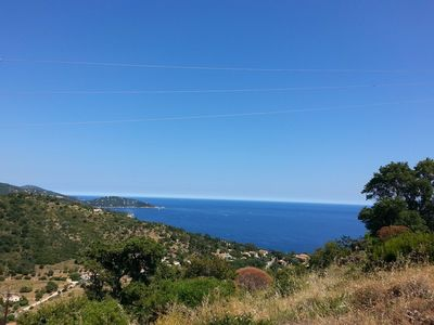 Photo for THE LAVANDOU / SAINT-CLAIR - EXCEPTIONAL SEA VIEW .SPACIOUS. VERY WELL EQUIPPED. RENOVATED. Sitaution ...