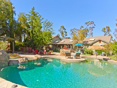 Photo for Rising Son Ranch 4.5 Acre Estate-3 Homes w/ Resort Style Pool & Spa