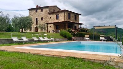 Photo for Villa Badia, spacious villa with private infinity pool - Luxury private villa for groups with infini