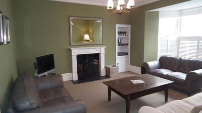 Photo for Apartment in the center of Tenby with Internet, Garden, Washing machine (689590)