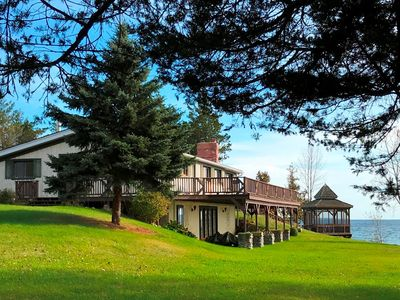 Photo for Private Waterfront Retreat on the Shores of Lake Ontario 2 cottages on 9 acres