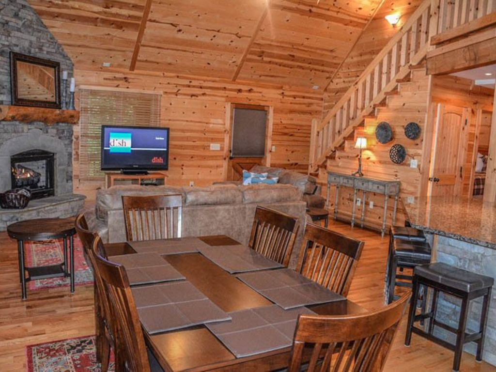Serenity Ridge 2 Bedroom Luxury Cabin With A Mountain View Hot Tub Wifi Blue Ridge North