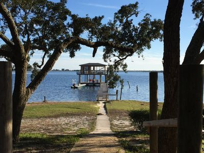 New Listing.....Waterfront Home And Pier On Innerarity Point.