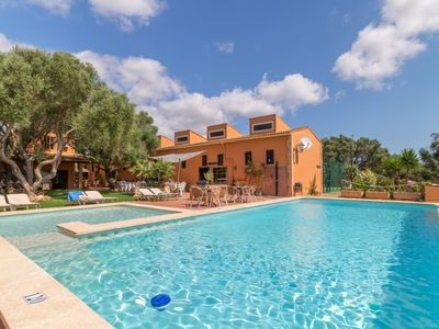 Photo for Huge Villa for 24 pax with XXL pool, playground and table tennis, near beaches