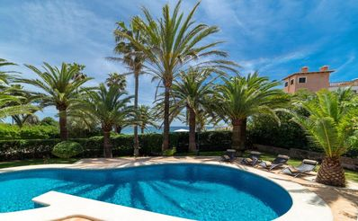 Photo for Dream villa at the sea-private pool, well-kept garden, sun terrace