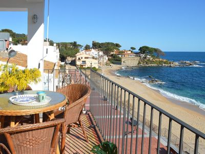 Photo for Canadell Mar, Apartment with great sea view in Calella de Palafrugell