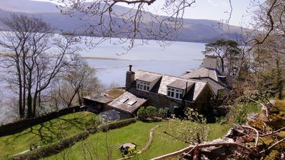 Photo for A 2 bedroomed renovated coach house, sleeps 4/5 with stunning views
