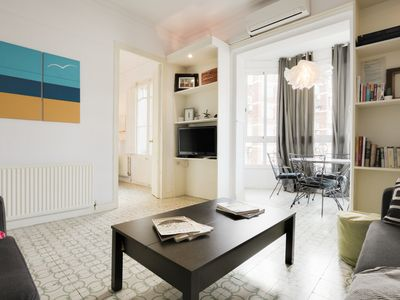 Photo for Lovely and modern 3-Bed apartment in Sant Antoni