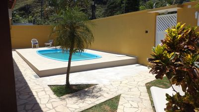 Photo for HOUSE WITH POOL, 2 BEDROOMS, 1 BEDROOM, barbecue, 6 CARS, AIR CONDITIONING.