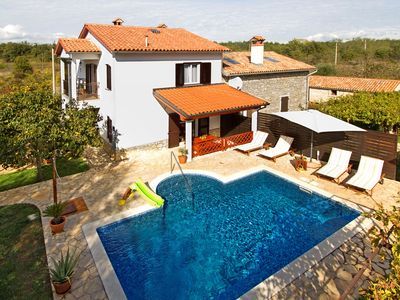 Photo for Holiday house with pool in a quiet location for families