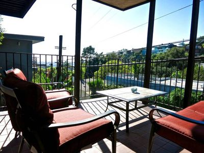 Photo for WeHo Apt w Private Patio & Views on top of Sunset