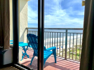 Photo for 14th Floor Renovated, STUNNING VIEW, Queen Beds, Pools, Hot Tubs, Lazy River