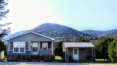 Photo for Cedar Grove Retreat. Comfortable, quiet...nestled in the Frio Canyon Tx Hill Co